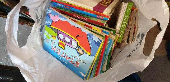 Oddam książki dla dzieci