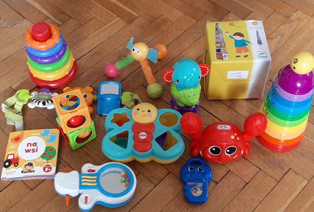 Zabawki dla dziecka od 6 m-cy