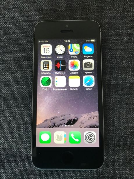Telefon iphone 5s 16 gb