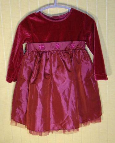 Платье детское нарядное George (размер 74-80)