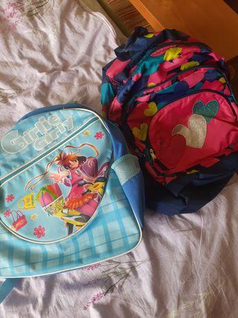 Два рюкзачка для девчонки