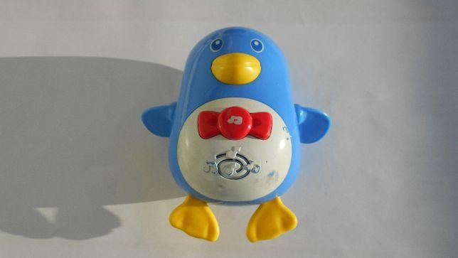 Zabawka Pingwinek grający, nakręcane rączki