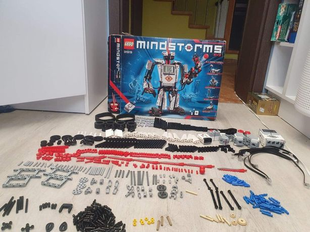 Lego Mindstorms EV3 (31313) pełen zestaw + pojemniki