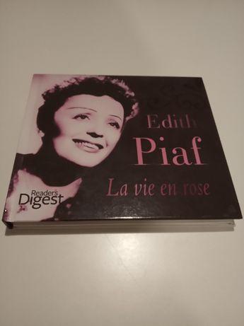 Edith Piaf - 3 płyty CD - 63 utwory + biografia autorki