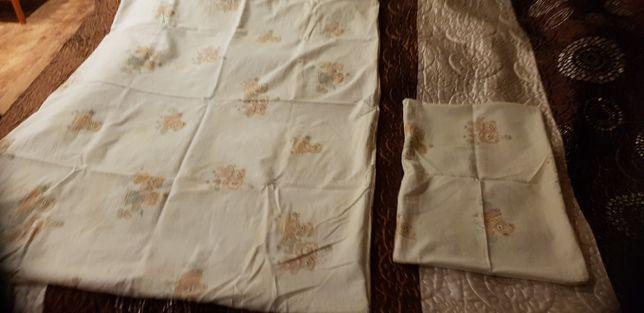 Poszewka na kołderkę i poduszkę 132x93 cm i 56x36cm