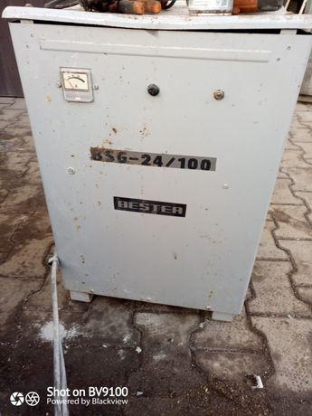 Prostownik sprawny bestera 100A 24V
