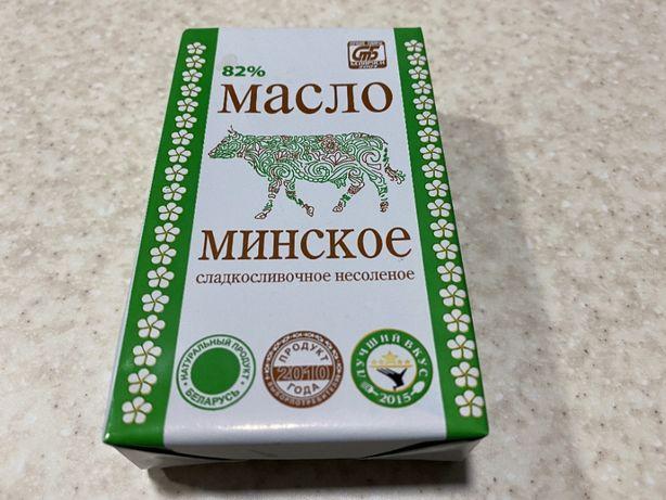 """Масло 82% """"Минское"""" 200г"""