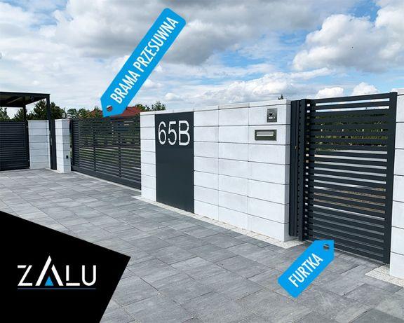 Nowoczesne ogrodzenia aluminiowe z montażem