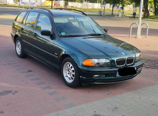Zderzak tył BMW e46 Farngruen Metallic przedlift