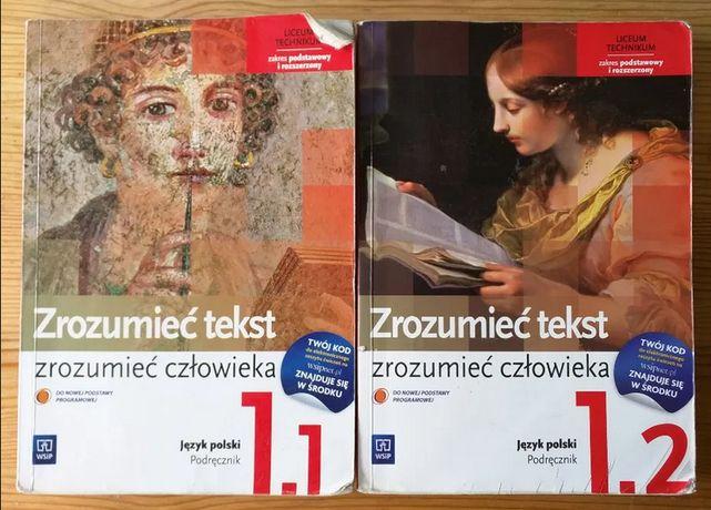 Zrozumieć tekst zrozumieć człowieka 1.1 1.2 język polski WSiP