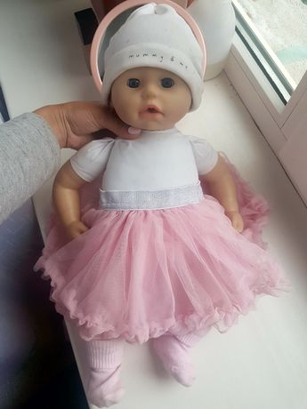 Анабель 9 версія Zapf міміка кукла анабель спідничка
