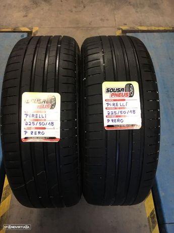 2 pneus semi novos Pirelli 225/50/18- Entrega gratis