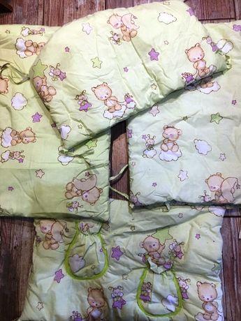 Защита, бортики на детскую кроватку