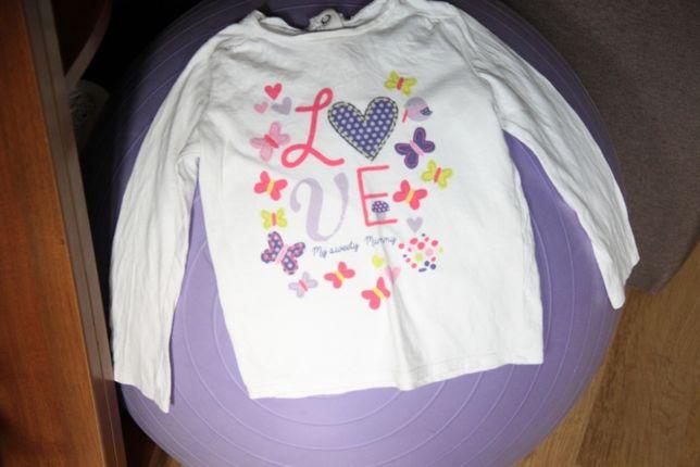 Реглан / кофта с длинным рукавом для девочки 92р 100% коттон