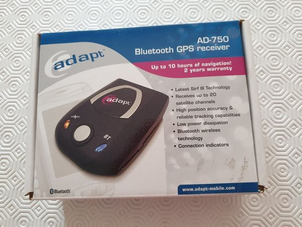 Adapt AD-750 Bluetooth GPS Receiver