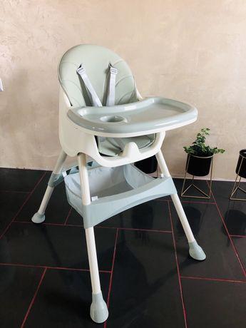 Nowe krzesełko do karmienia 2w1 moętowe