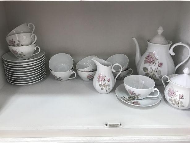 Serviço de chá ou café de porcelana SPAL