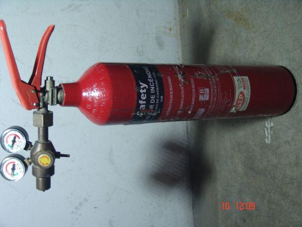 Garrafa CO 2 p/ Aquário com difusor e válvula selenoide