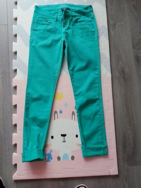 Spodnie zielone r.38