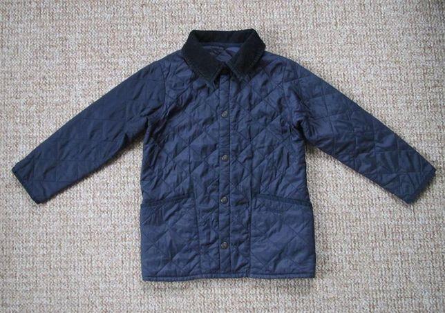 BARBOUR Liddesdale детская стеганая куртка стеганная оригинал 4-5 лет