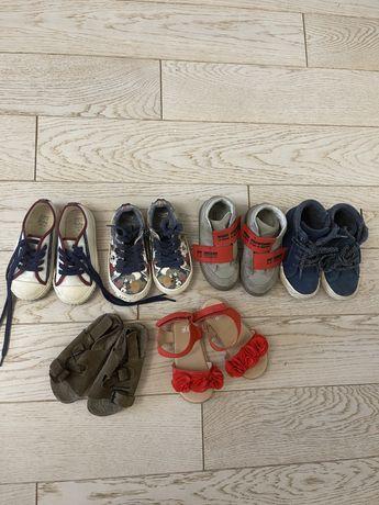 Продаем нашу обувь, для мальчика и девочки! Размер -23. Все оригинал!