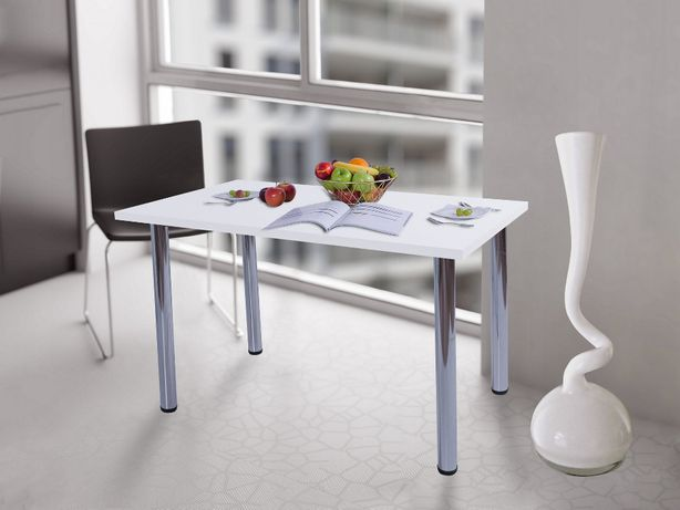 Stół kuchenny 90x50x38 Biały Mat Producent PL