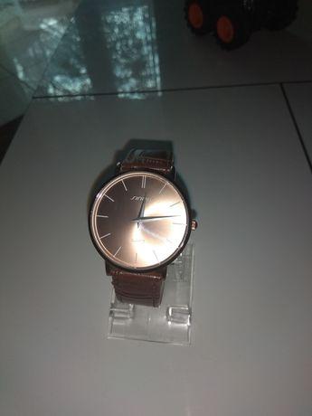 Zegarek Japan Sinobi duża tarcza pasek skóra