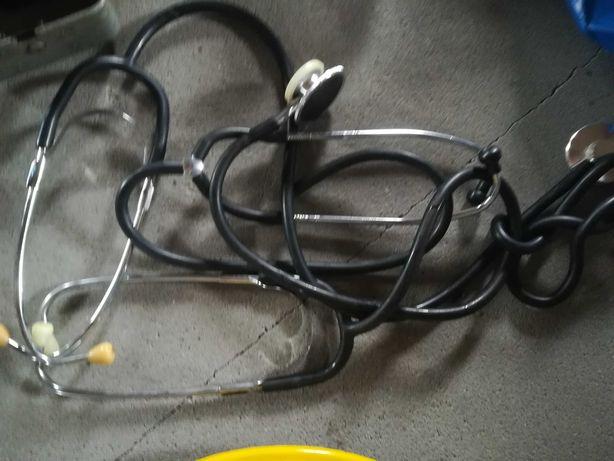 Stetoskopy słuchawki lekarskie