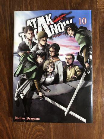 Manga Atak Tytanów Tom 10