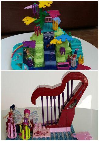 2 Zestawy Winx klocki cobi lego rafa koralowa harfa dzień dziecka