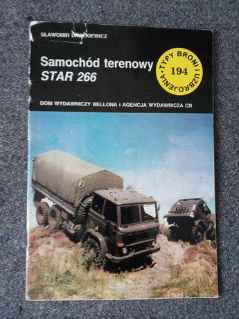 RZADKIE wydanie Star 266 ciężarówka TBU mon zeszyt TBiU 194 ksiazka