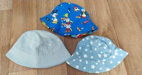 Панама для мальчика 1 2 3 4 года 52 размер со звёздочками