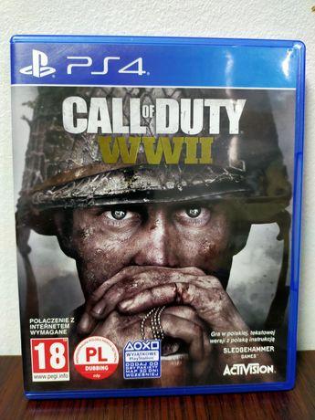 Call of Duty WW II PS4 PL stan jak nowy