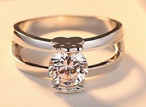 TOUS pierścionek damski w kolorze srebra