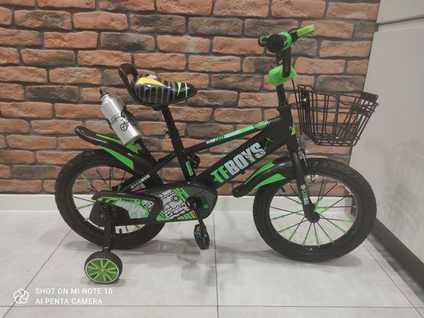 "PROMO:rowerek dziecięcy 12"",16""+GRATIS: prowadnik"