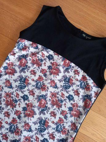 Sukienka róże xs