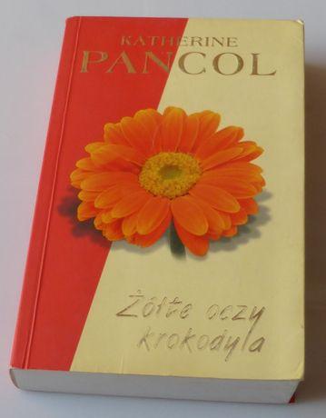 Książka ŻÓŁTE OCZY krokodyla Kathrine Pancol literatura kobieca