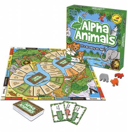 Настольная игра Alpha Animals игра про животных новая