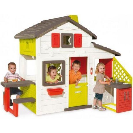 Детский домик с кухней Friends House Smoby 810200