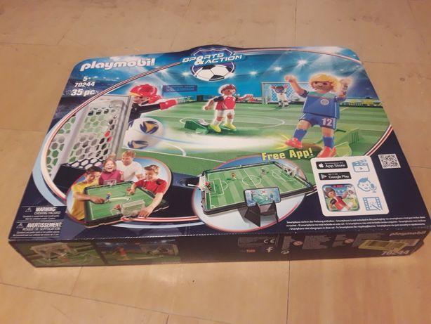 Playmobil - Duży przenośny stadion piłkarski
