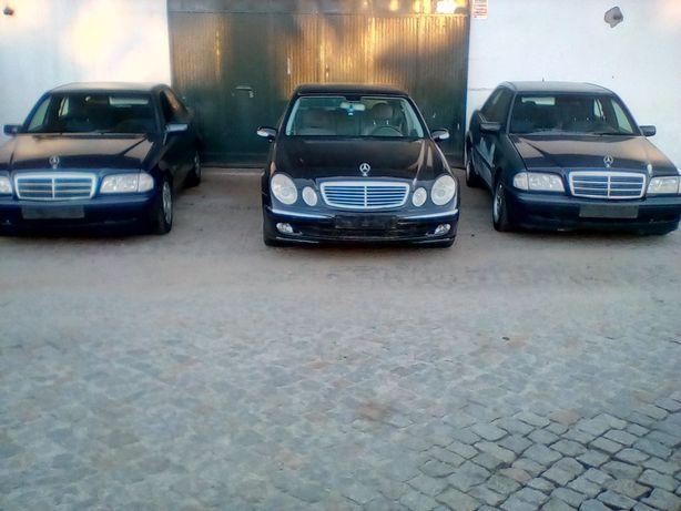 Mercedes para peças classE e classC
