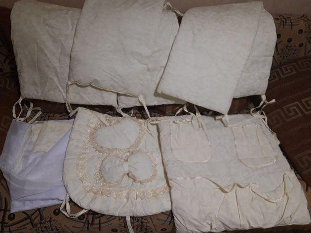 Захист на дитяче ліжко/ защита на детскую кровать