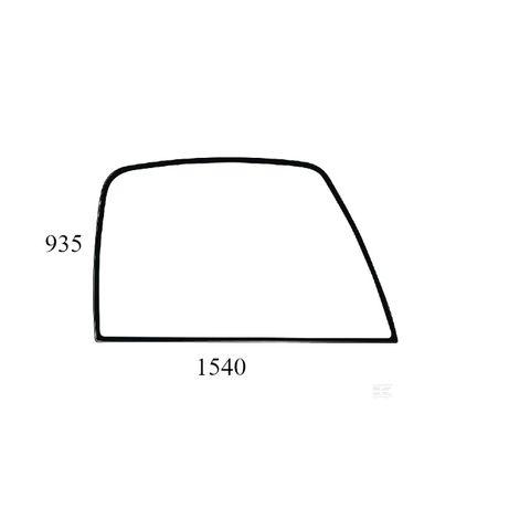 szyba boczna prawa ładowarka teleskopowa JCB 520 , 530 , 532 ACX560