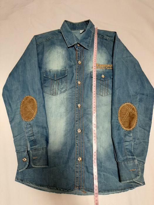 Джинсовая рубашка Апостолово - изображение 1
