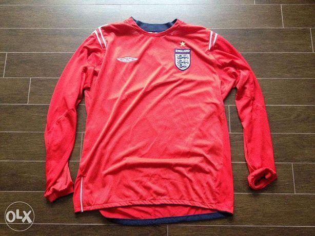 Camisola de Futebol da Seleção Inglesa - Inglaterra 2004