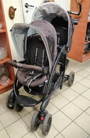 Wózek dziecięcy spacerowy bliźniaczy Graco