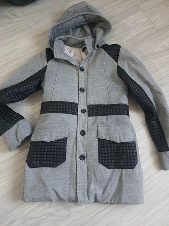 Płaszcz zimowy ciepły 164