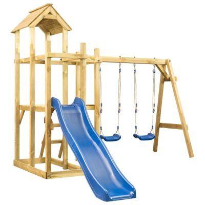 Casa de brincar com escorrega baloiço e escada **envio grátis**