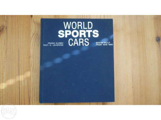 "Livro ""World Sports Cars"" - F.Oleski/H.Lehbrink"