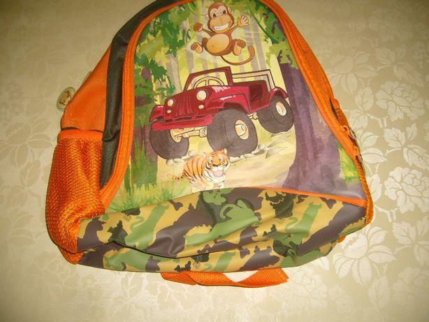 Plecak dla przedszkolaka nowy